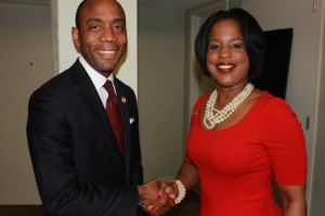 Cornell William Brooks and Roslyn Brock NAACP