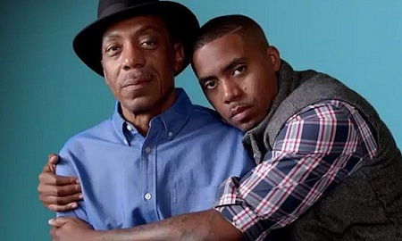 Profound rapper Nas'  smooth flow is obviously in the genes. His father is jazz musician Olu Dara