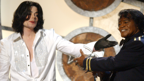 Michael Jackson, King of Pop pays tribute, to the King of Soul.