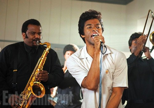 """Chadwick Boseman who starred as James Brown in the Biopic, """"Get On Up,"""" was phenomenal."""
