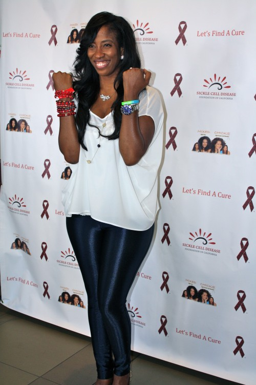 "Actress Shondrella Avery (""Napoleon Dynamite"") Photo by:  Shanda Pierce/TCV was taken  last year at Let's Find A Cure Event in LA."