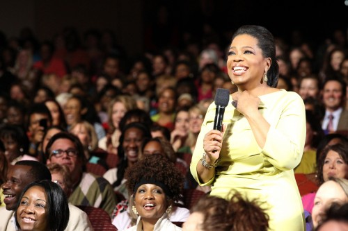 """""""I want us all to fulfill our greatest potential. To find our calling and summon the courage to live it,"""" Oprah Winfrey"""