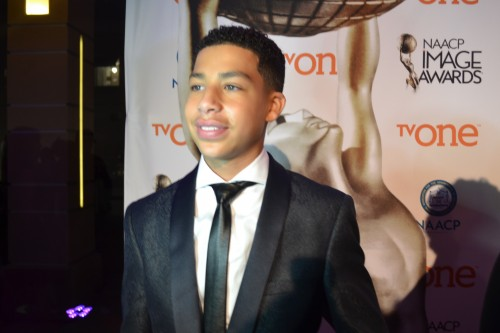 """Marcus Scribner, """"black-ish"""" Outstanding supporting actor in a comedy series."""