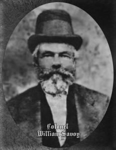 Colonel William Savoy