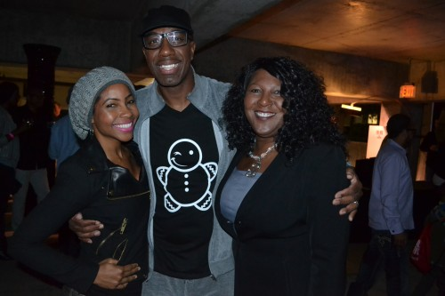 All smiles Funnyman, J.B. Smoove and his lovely wife Shahida Omar made an appearance.