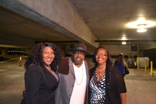 """Star of """"The Soulman"""" Cedric the Entertainer, strikes a pose before heading in the the party."""