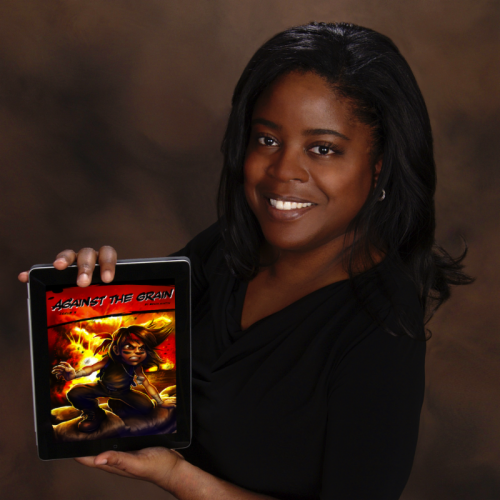 "Erica Austin, Slightly Off Productions creates New comic book App, ""Against the Grain"""