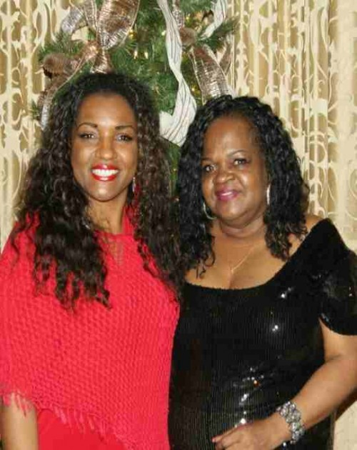Pictured: Camille Shavon and mother Sharon Moody.