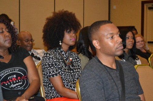 Attendees take in valuable advice from seasoned Gospel Industry artists.