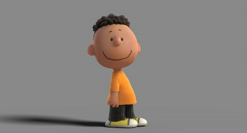 Franklin, first African American Peanuts Character.