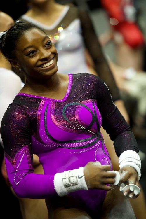 Simone Biles, Gymnastics World Champion.