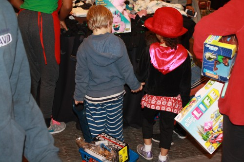 21st Annual Christmas Store in Long Beach benefiting homeless and low, low income families with children.