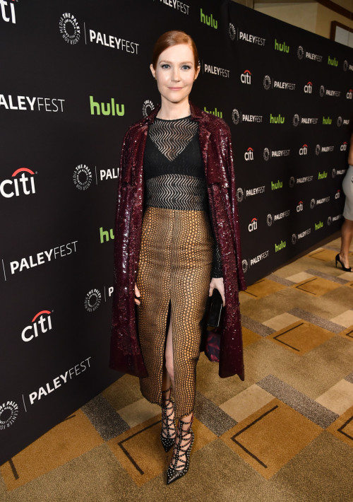 HOLLYWOOD, CA - MARCH 15: Darby Stanchfield at PaleyFest LA 2016 honoring Scandal, presented by The Paley Center for Media, at the Dolby Theatre on March 15, 2016 in Hollywood, California. © Rob Latour for the Paley Center