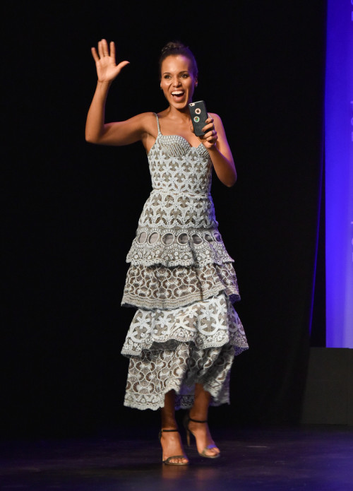 HOLLYWOOD, CA - MARCH 15: Kerry Washington at PaleyFest LA 2016 honoring Scandal, presented by The Paley Center for Media, at the Dolby Theatre on March 15, 2016 in Hollywood, California. © Rob Latour for the Paley Center.