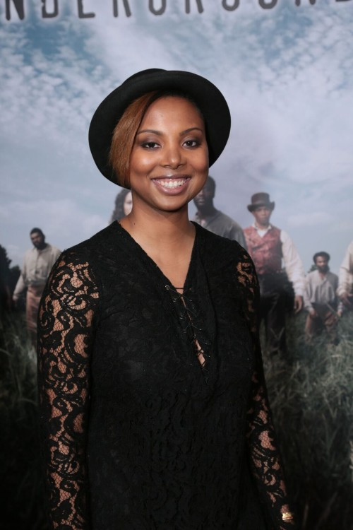 "Misha Green, Executive Producer of WGN America's new series ""Underground""/Alex Berliner/ABImages for WGN America"
