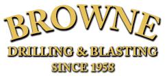 Browne Drilling & Blasting Logo