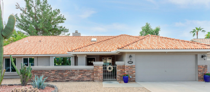 Emily Wertz, Realtor // Just Listed: 9067 E Larkspur Dr. Scottsdale, AZ 85260 // JustClickYourHeels.com