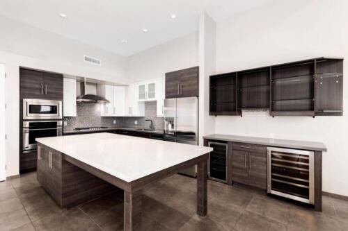 Amazing Kitchen + Bar with 2 wine fridges