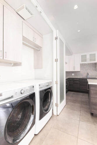Laundry + Custom Storage