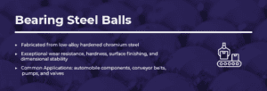 bearing steel balls information