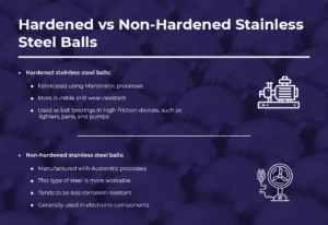 hardened vs non-hardened stainless steel
