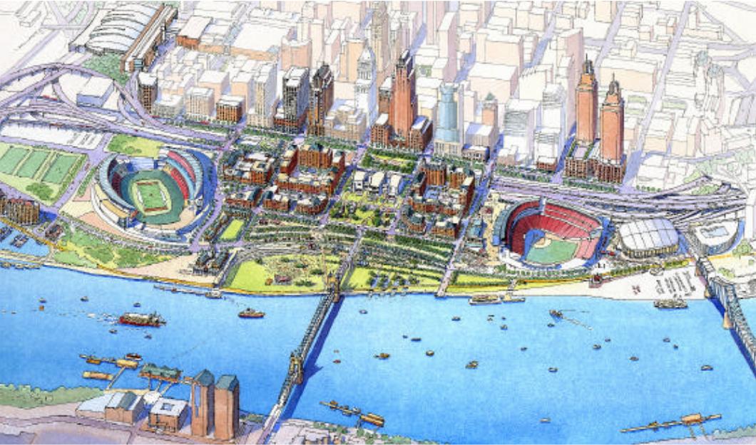Central Riverfront Urban Design Master Plan & Agreement
