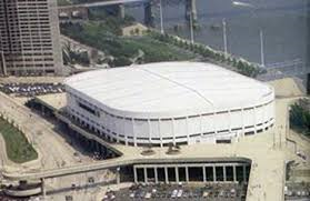 Riverfront Coliseum opened