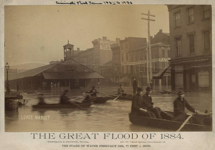 The Great Flood of 1884 The Banks Cincinnati History