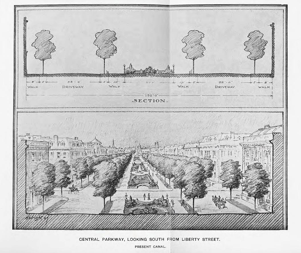1907 Kessler Parks Plan