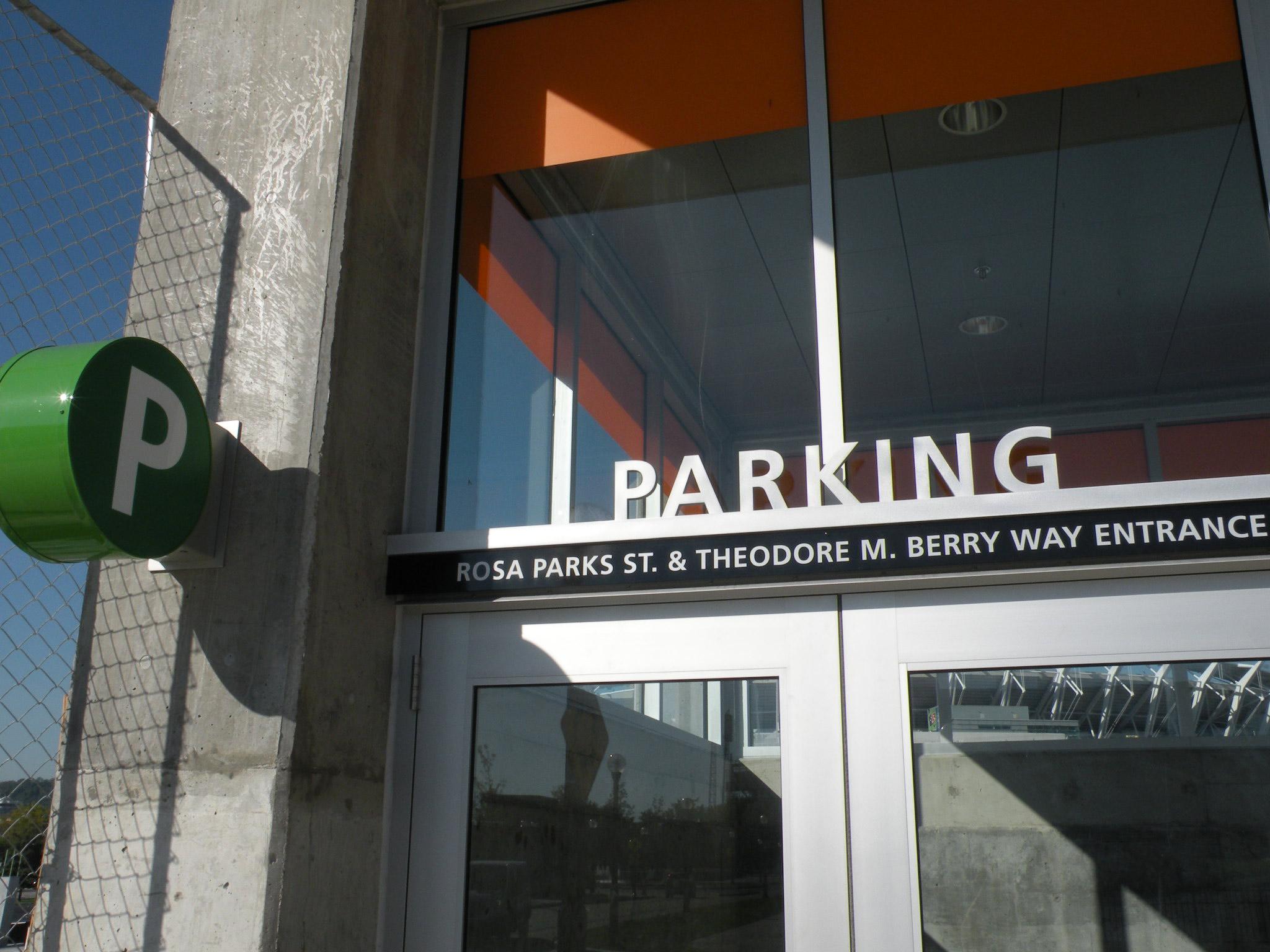 The Banks Cincinnati Parking