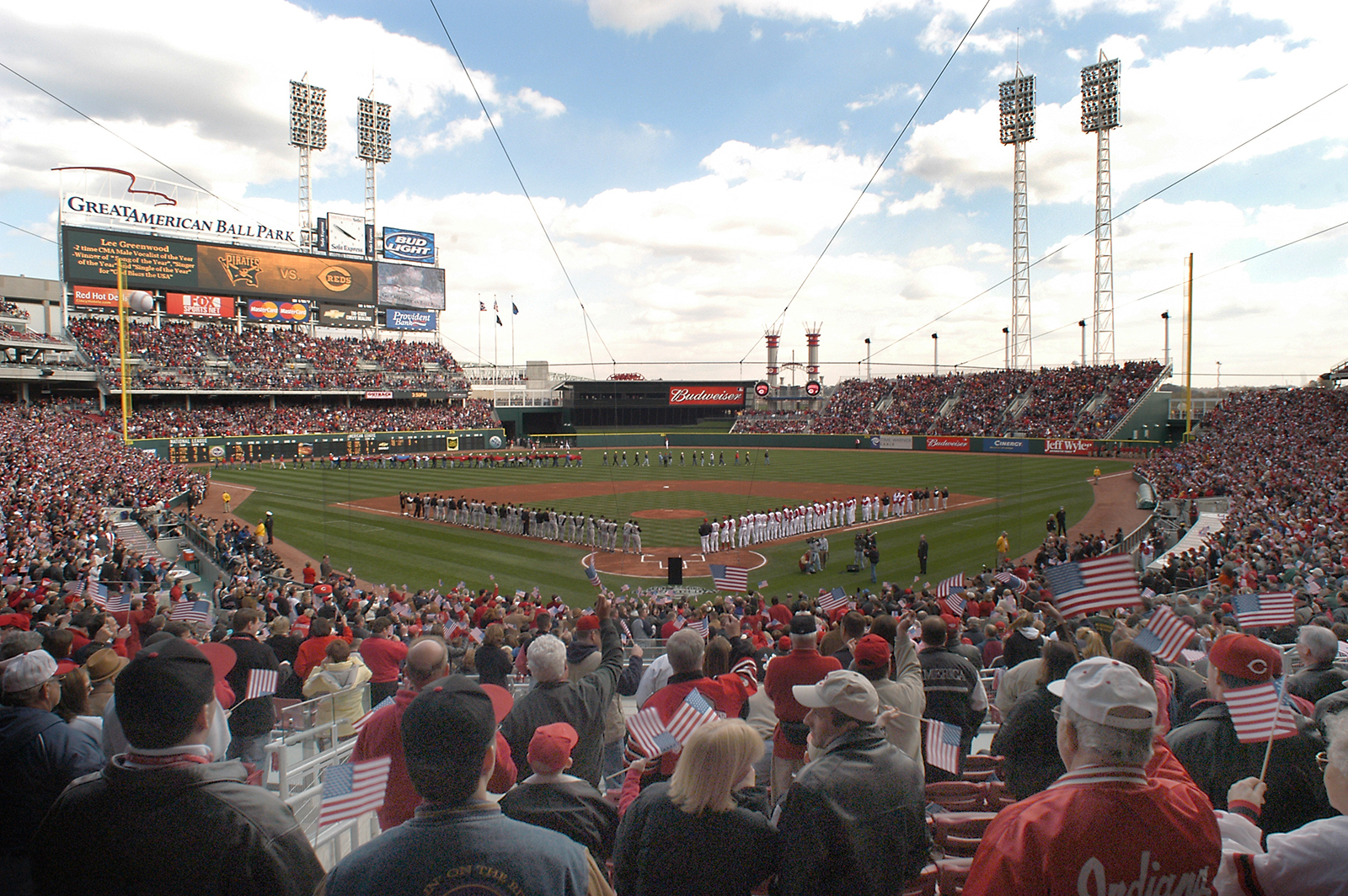 Great American Ball Park opens