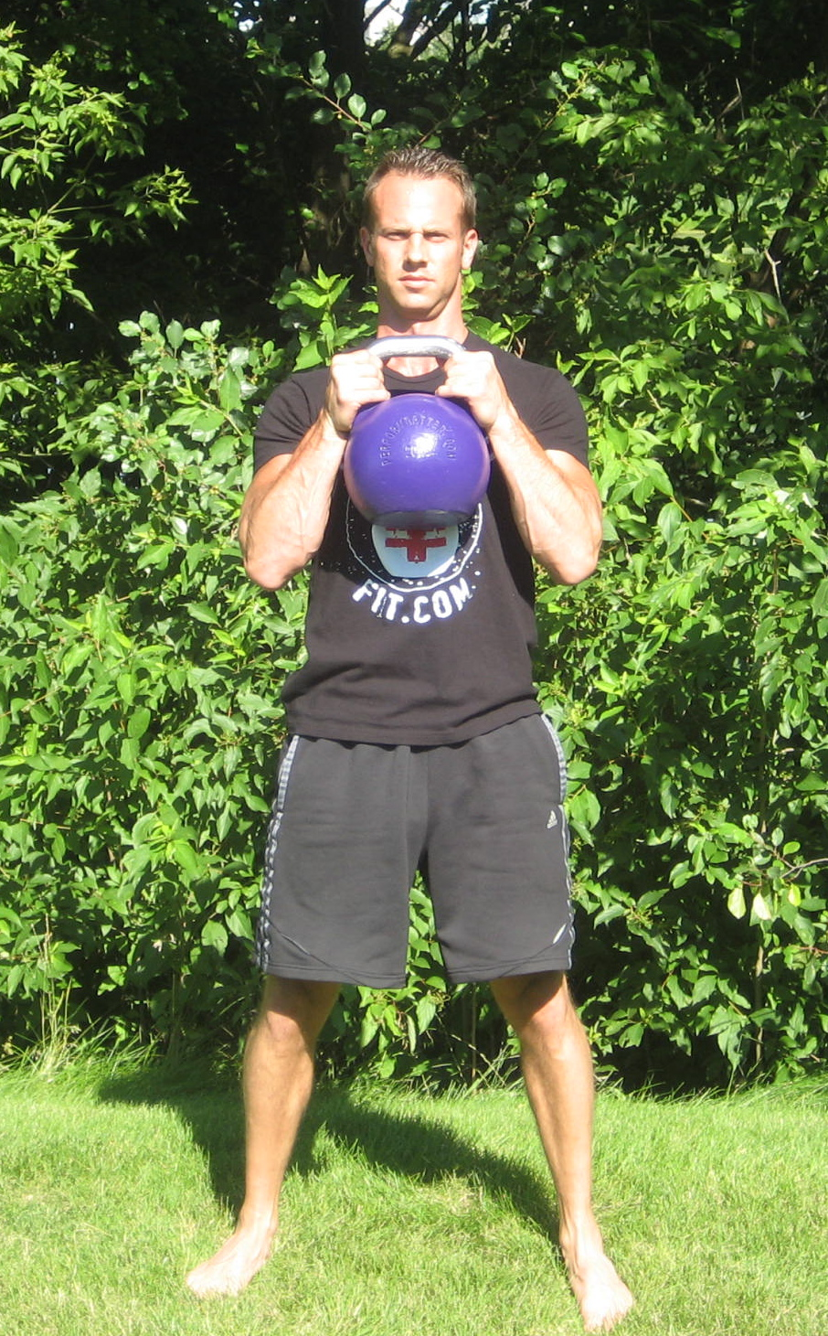 Kettlebell Goblet Squat 1