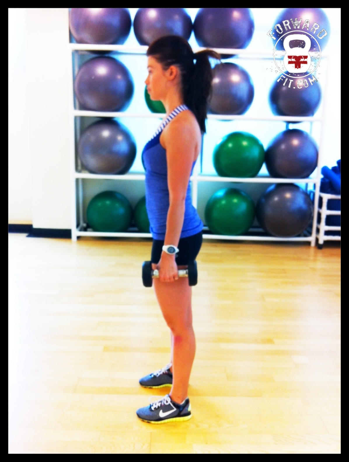 Lunges Dumbbell 1