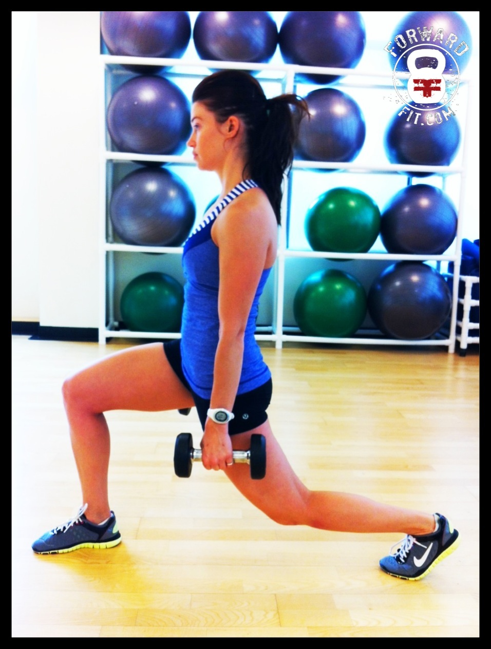 Lunges Dumbbell 3