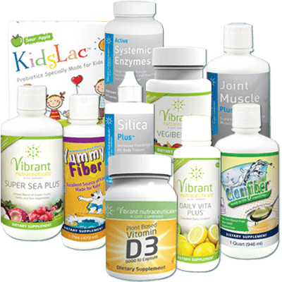 Vibrant Nutraceuticals Products
