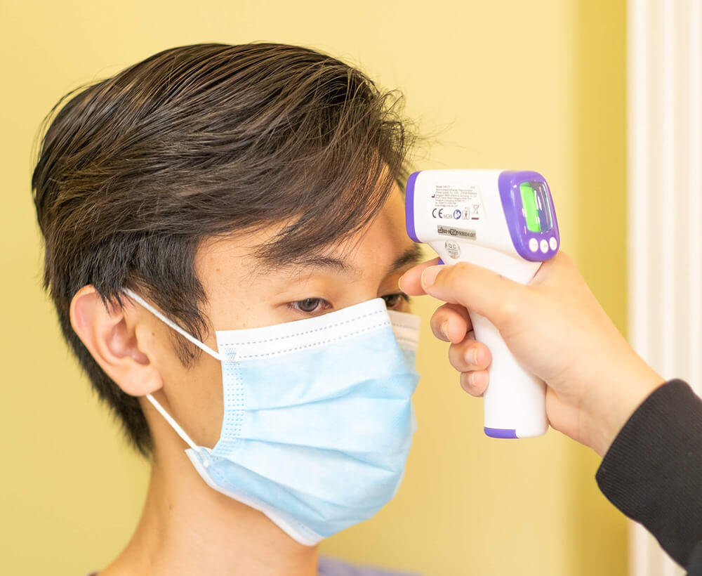 Dental Walk-In Clinic - Clean Air and Safe Office - Wellness checks
