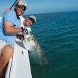 Capt. Kyle with a nice Key West tarpon.