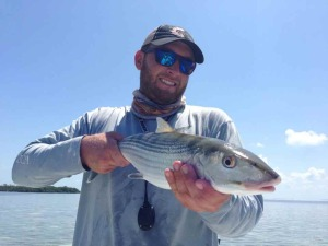 Capt. Kyle with a nice Key West bonefish
