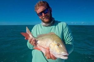 A nice Key West mutton snapper