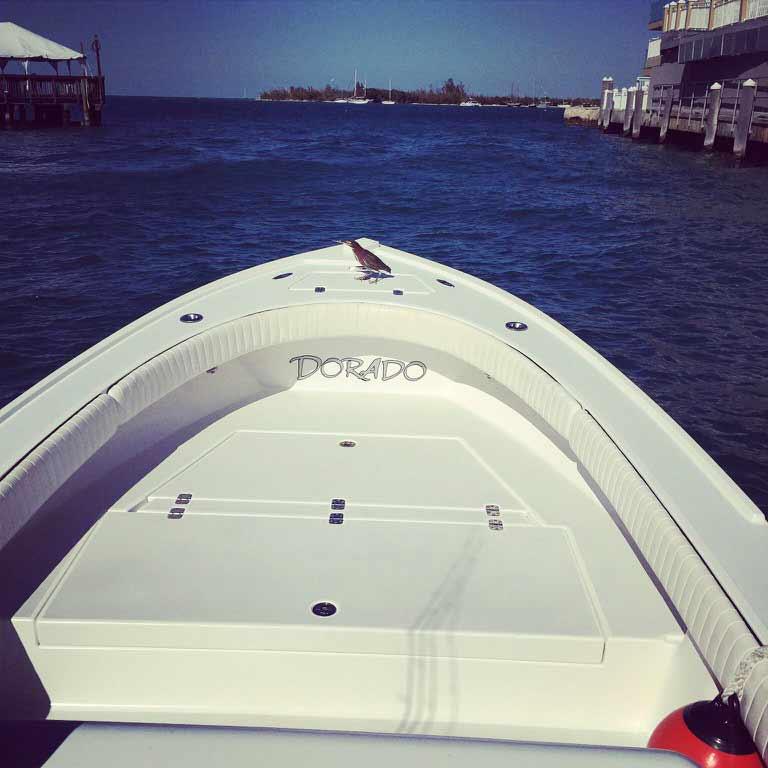 Leaving Key West harbor