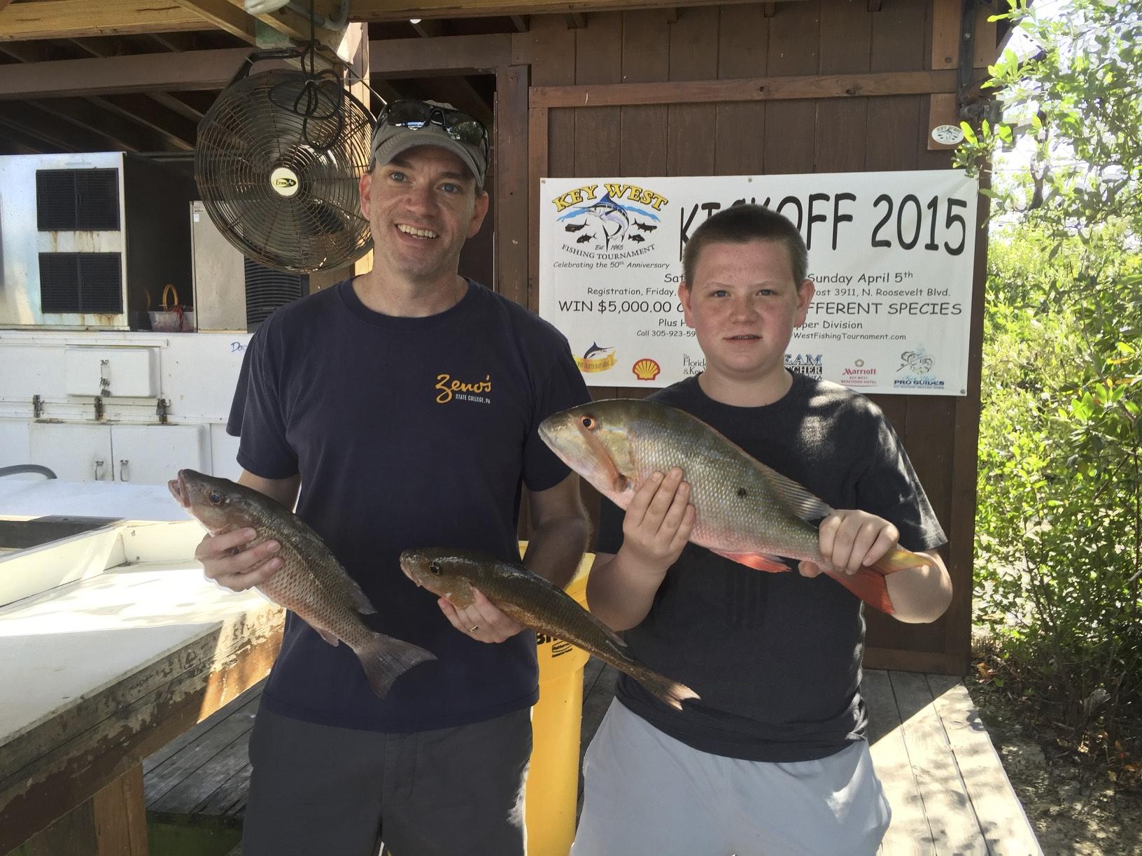 December Fishing in Key West