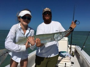 Barracuda caught by Shelby.