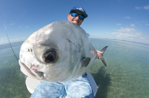 Fishing for permit on the flats of Key West