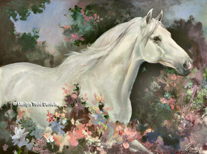 'Lipizzaner Spring' by Todd-Daniels | Woodsong Institute