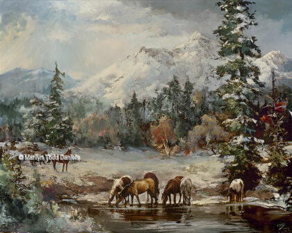 'Mountain Mustangs' by Todd-Daniels | Woodsong Institute