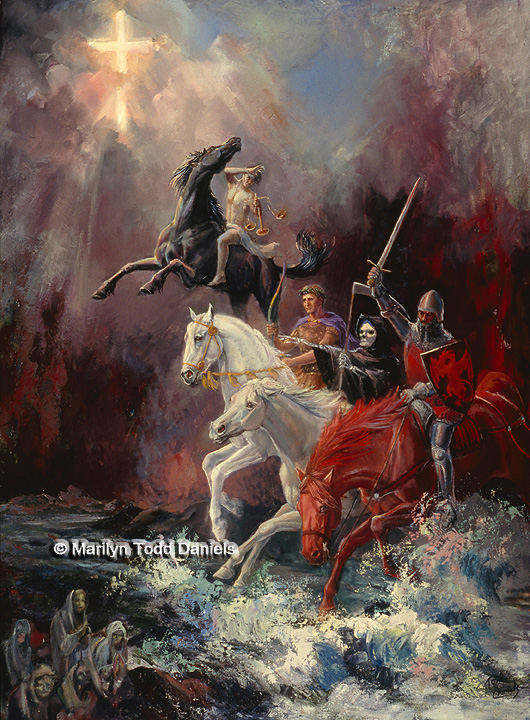 'Four Horsemen' by Todd-Daniels | Woodsong Institute