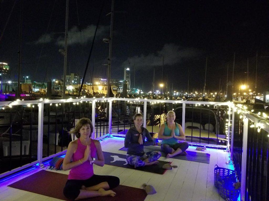 Glow Flow Yoga in Corpus Christi Texas