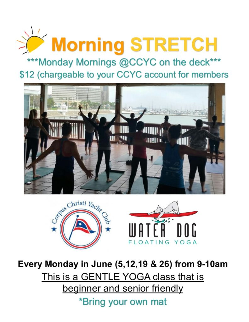 Corpus Christi Yacht club yoga