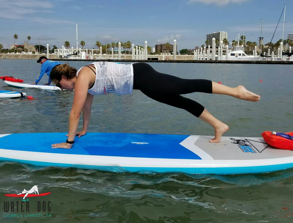 Pilates on the water in Corpus Christi, Waterdog.cc