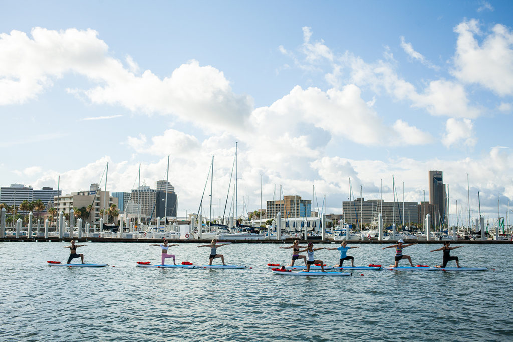 SUP Yoga at Water Dog CC